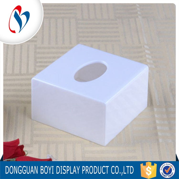 New Design Countertop Acrylic Tissue Box Customized Acrylic Display Dome