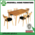 W-DF-0681 Solid Oak Small Kitchen Table and 2 Chairs