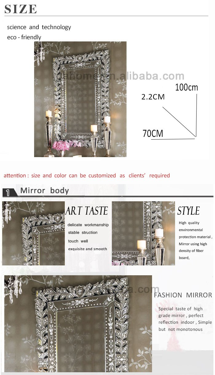 venetian mirrors home decorative wall mirror round wall mirror, View ...