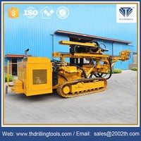 Multifunctional Crawler Hydraulic Rotary portable water drilling rigs