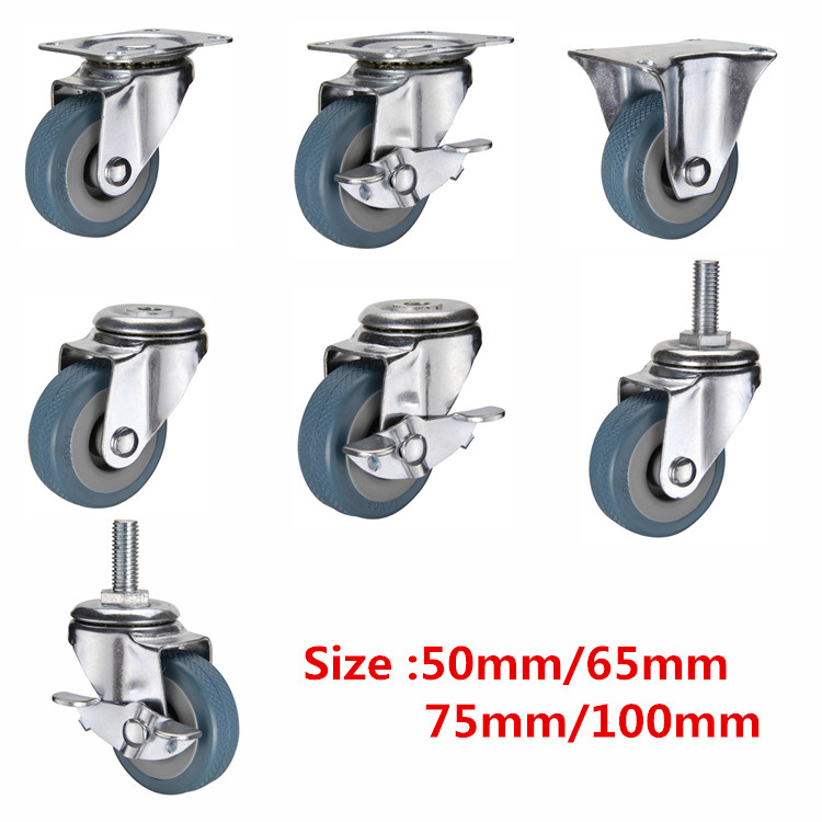 WBD guangzhou furniture wholesale 1.5 inch small wheels for carts