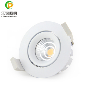 2700k 3000k 4000k 5000k 8w 13w reflector lens dimmable commercial led cob downlight 0-100% dimming with 83mm hole cri>90