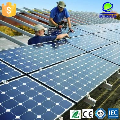 Polycrystalline silicon 150w commercial grade solar panels