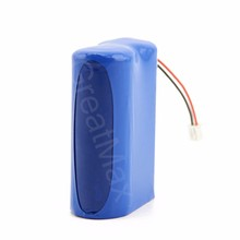 7.4V 3200mah 18650 Rechargeable Lithium ion battery pack for power test tools