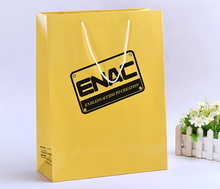 shopping paper bags shopping exquisite gift bag clothing bag custom LOGO