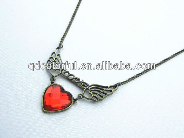 YN3974 red heart fashion jewellery market