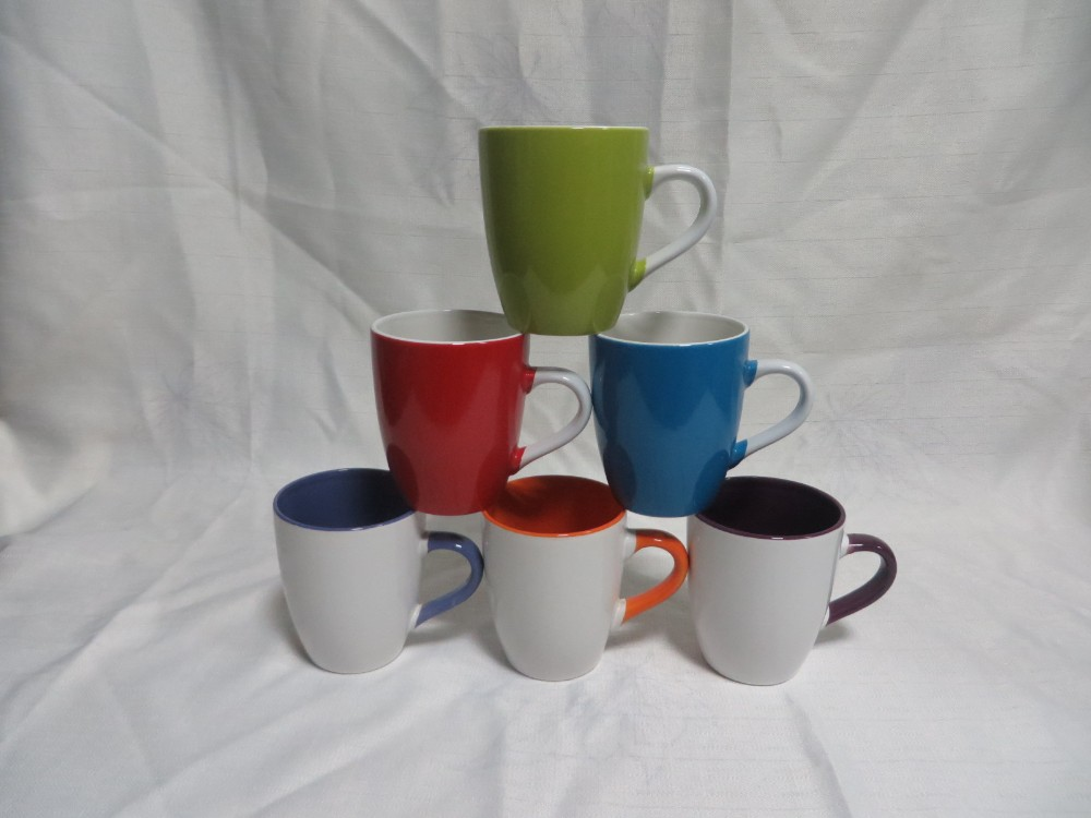 hot sales mugs of color glazed dinnerware sets from zongheng