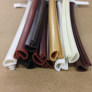Window Frame Sound Insulation Customized Trim Extrusions Plastic Sealing Strip