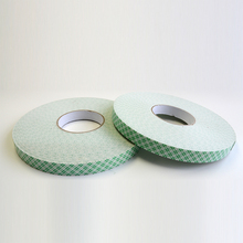 2017 Hot sales!!! Double Sided self adhesive EVA PE Foam Tape With Green Trunk Paper Liner for Thermal Insulation