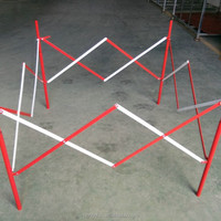 Foldable Square Metal Guardrail Road Safety