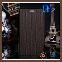 luxury business style Genuine leather flip cover case for Samsung Galaxy S5 leather case