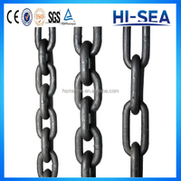 British Standard Ordinary Mild Steel Welded Medium Link Chain