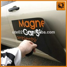 Trade show vehicle magnetic sign stickers for toy cars