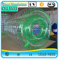 Qi Ling Good quality PVC/TPU water roller ball price for kids and adults