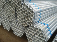 High quality hot dip gi tube ,Green housed used galvanized steel pipe /2.5 inch galvanized steel pipe