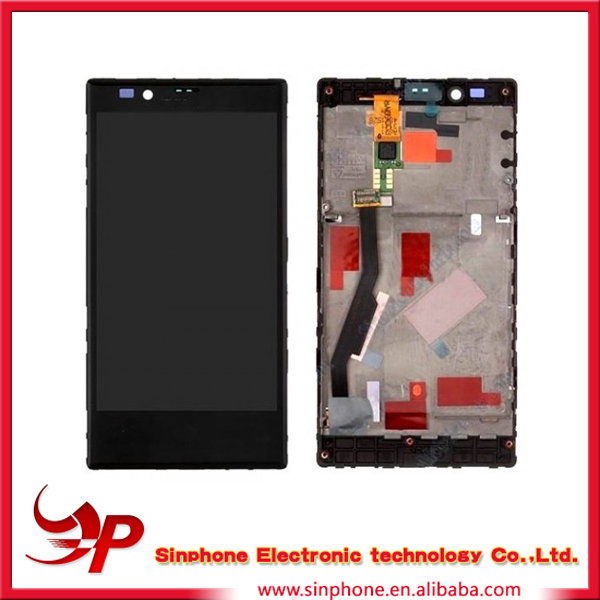 China supplier lumia 720 lcd for nokia lumia 730 lcd display with frame touch screen