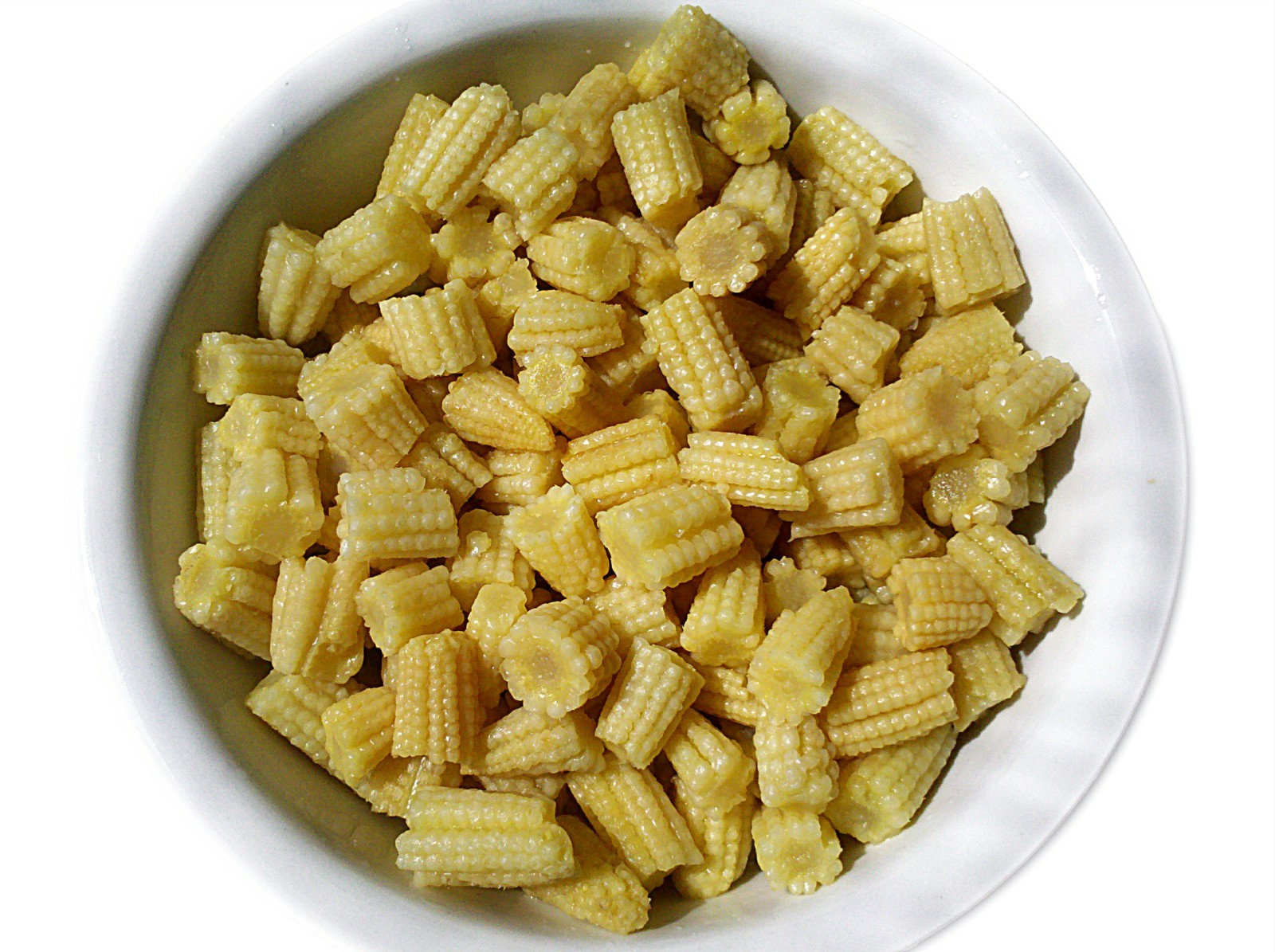 Canned baby corn cut/whole