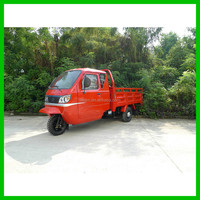 New Small Garbage Truck/Rubbish Tricycle with Automatic Hydraulically Dumper