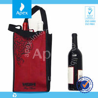 high quality leather wine bag carrier