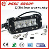 New Offroad 9-36v 4inch mini led light bar Single Row 20W car LED Light Bar with lifetime warranty