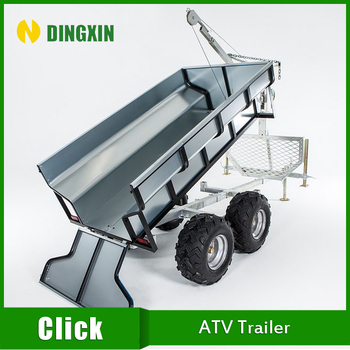 China timber trailer for ATV