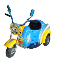 Amusement park games arcade battery kiddie ride on Mini motorcycle for sale