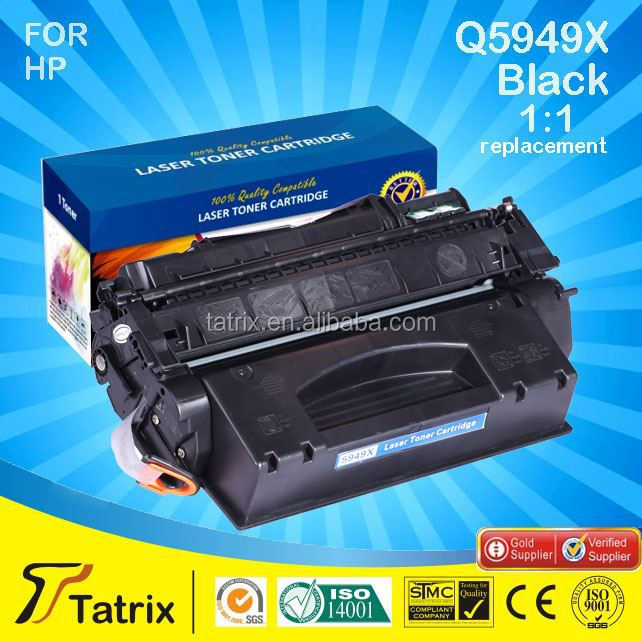 Compatible 5949X 49X toner cartridge for HP LaserJet 1160 1320 3390 3392 Printer