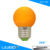 2835SMD LEDs colorful led bulb lamp 12V or 24W or AC100-240V 3W G45 5W G60 360 degree pmma globe light with long life span