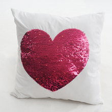 Magic fancy reversible sequin cushion for home decor accepted custom