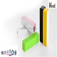 2600mah Portable power bank external battery charger for Samsung S4 s3 Iphone 5 4s HTC mobiles all mobiles