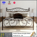 simple iron bed frame From Factory