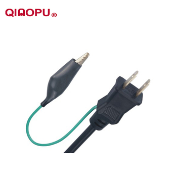 Qiaopu Japanese-approved JIS IEC ac japan power cord with 125V Voltage