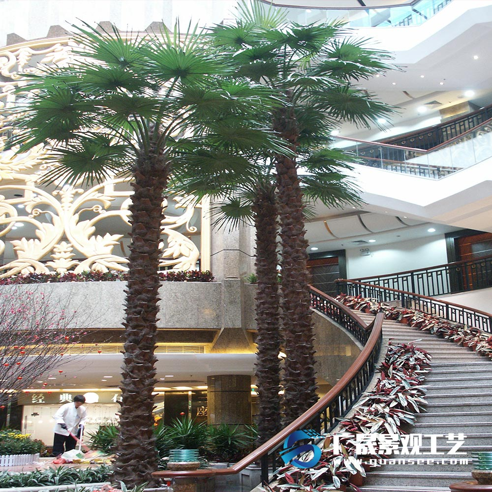 Artificial Palm Tree Wholesale for Indoor and Outdoor Large Adornment in Hotel