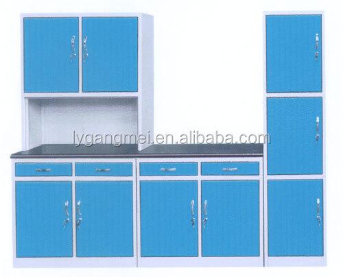 Aluminium metal kitchen equipment cabinet cookware sets for Kitchen set dari aluminium