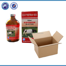OEM/GMP Oxytetracycline HCL injection 20% in glass bottle