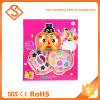 Top selling cute colorful cosmetic set toy for girls makeup