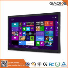 84 inch IR touch 4k resolution interactive touch screen flat panel/interactive touch screen smart board