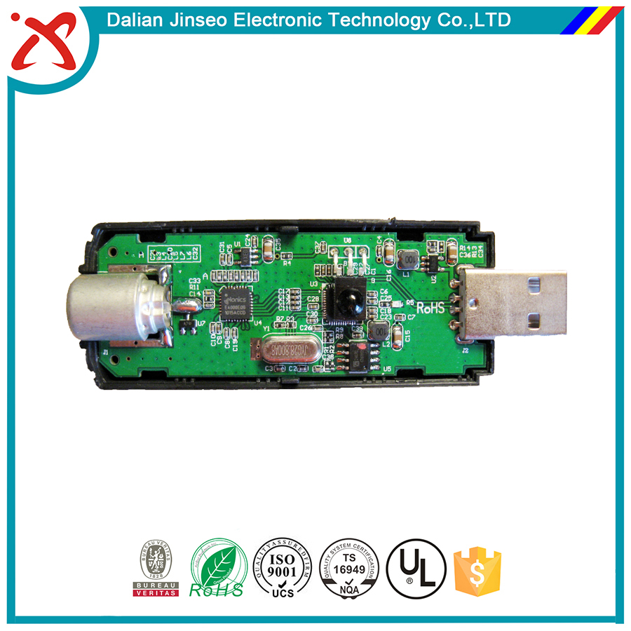 Wireless bluetooth transmitter circuit board