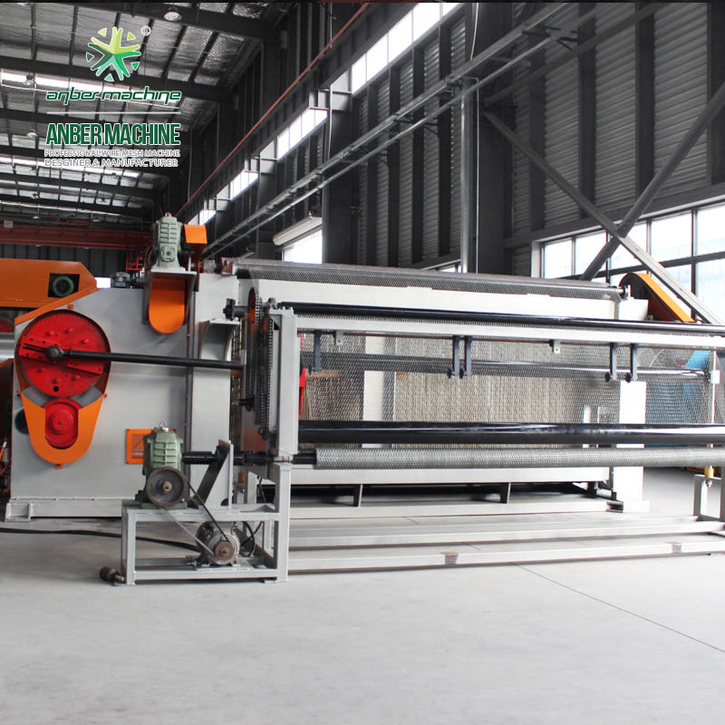 3m/2m Chicken mesh making machine Hexagonal wire netting machine