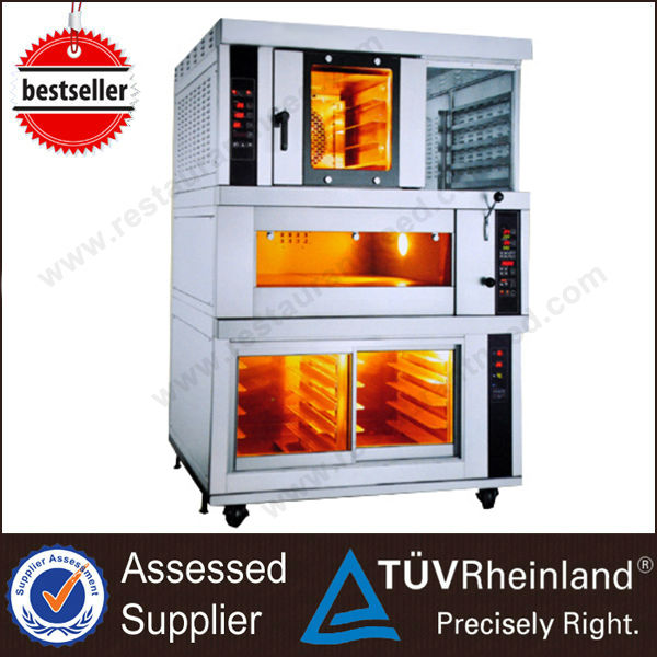 Luxury Deck Oven&Proofer Electric Mini Industrial Pie baked oven