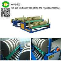 Hot sale kraft paper roll slitting and rewinding machine