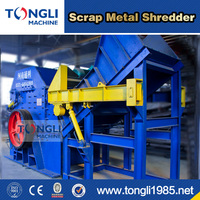 High Efficiency Metal Scrap Crushing Machine