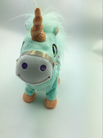 Wholesale Plush Horse Walking Toy for Children and Adults stuffed plush toy horse for kids