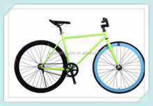 2015 better quality 700c aluminium fixed gear bike fixie gear bike or road bike road bicycle with many colors, made in China