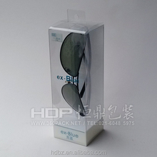 high quality clear Plastic box for sunglass display,sunglasses packaging