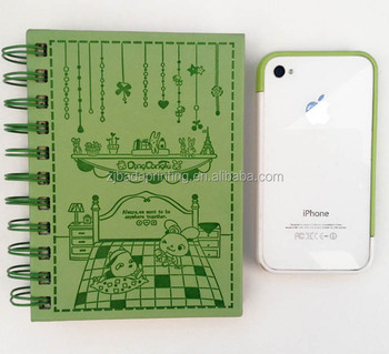 custom wholesaling High quality new design colorful spiral coil notebook
