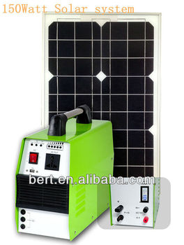 150w Portable Solar system with CE&ROHS Approved ,Excellent qulity(BT150F)