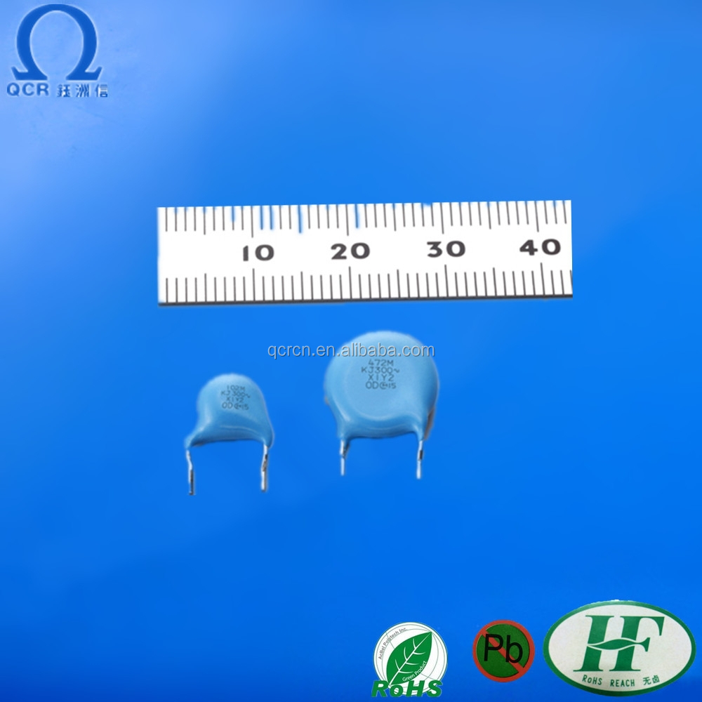 100pF~4700pF High Voltage electrolytic Ceramic Capacitor