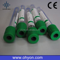 2016 Disposable Medical red tube mobile collection tubes