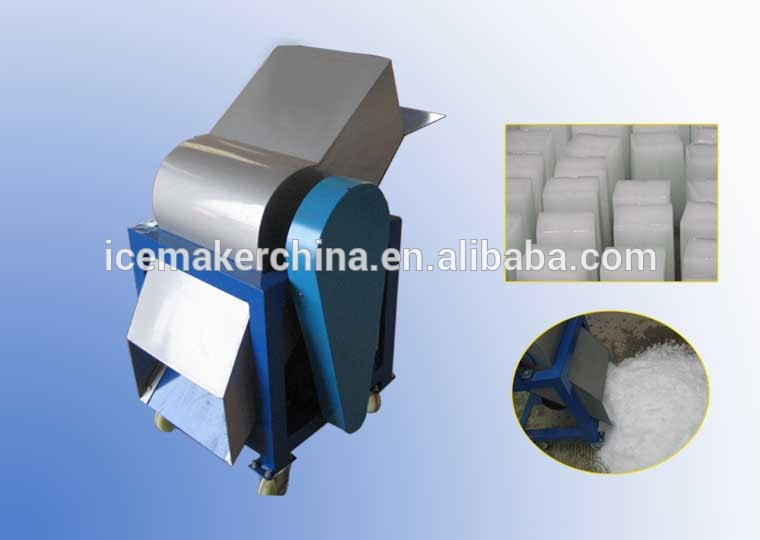 Customizing 100KG Crushed Ice Machine used for block ice